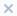 иконка крестик